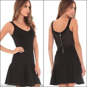 Torn By Ronny Kobo Lorianna Knit Black Dress L